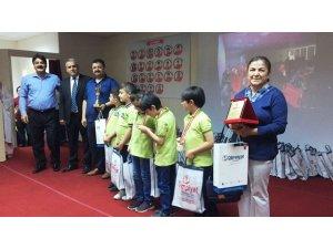 Matematik Olimpiyatlarında ödül töreni