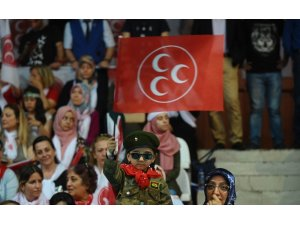 """MHP lideri Bahçeli: """"Kırmızı çizgisi olmayan bir gafilin cumhurbaşkanı adayı olması bile züldür"""""""