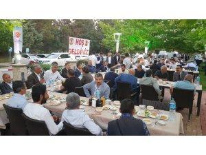 Gazetecilerin iftarında devlet erkanı buluştu