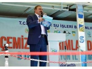 Bakan Veysel Eroğlu Dinar'da