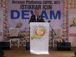 """Bilim, Sanayi ve Teknoloji Bakanı Faruk Özlü: """"Vizyonumuz yerli, hedeflerimiz küreseldir"""""""