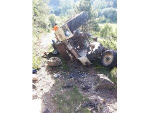 Liseden mezun olan genç, traktörün altında kalarak hayatını kaybetti