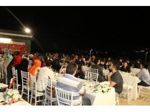 15 Temmuz Şehit Aileleri Ve Gaziler sahur sofrasında buluştu