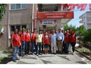 CHP'li gençlerden Dalaman'da seçim çalışması