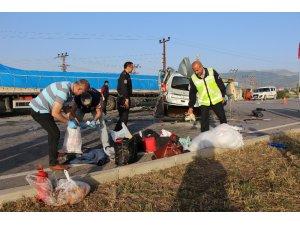 Amasya'da feci kaza: Aynı aileden 3 ölü, 6 yaralı