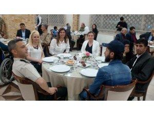 Tatvan'da şehit ve gazi yakınlarına yönelik iftar programı