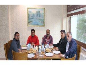 Başkan Tutan, gazetecilerle buluştu