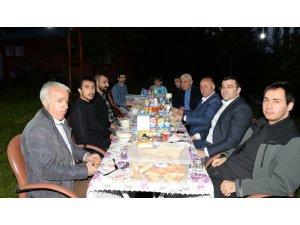 Vali Azizoğlu Şehit Aktepe'nin yakınlarıyla iftar sofrasında buluştu
