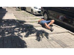 İstanbul'da bonzai manzaraları kamerada