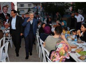 Başkan Tuna Keçiören'de iftar yaptı