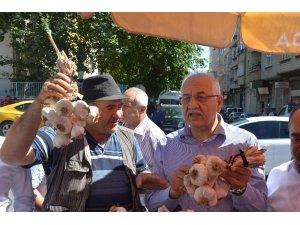 Milletvekili Erdoğan'dan ünü Gaziantep sınırlarını aşan sarımsak için destek sözü