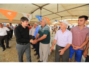 Başkan Türel Çalkaya'da tapular için tarih verdi