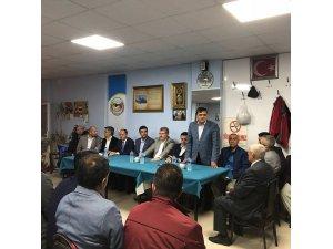 Başkan Yalçın Pazaryerili vatandaşlarla buluştu