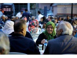Atakum'da 5 mahalle aynı sofrada buluştu