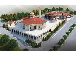 Karadeniz'in en büyük cami ve külliyesinin inşası devam ediyor