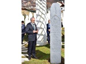 Yalçın Topçu, Maglaj'daki Boşnaklara konuştu