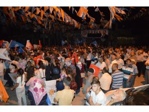 AK Parti Besni karargah açılışı yapıldı