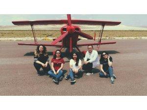 Genç havacıların rüyası gerçek oldu