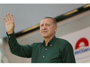 """Erdoğan: """"Kılıçdaroğlu ile İnce'nin terörle mücadele konusunda bir söylemleri yok"""""""