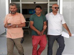 Kur'an kursu inşaatından çaldığı evyeleri satarken yakalandı