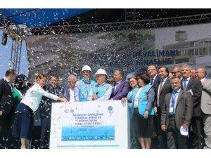 Gaziantep Havalimanı yeni terminal binasının temeli törenle atıldı
