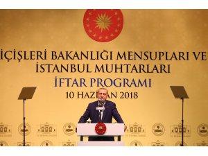 """Cumhurbaşkanı Erdoğan: """"Benim için muhtar bile olamaz diyenler milli iradenin ne demek olduğunu bilmiyorlardı"""""""