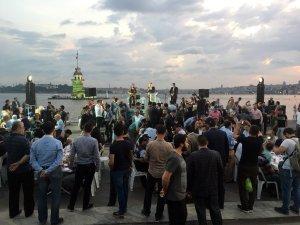 Üsküdar'da 50 bin kişi iftar sofrasında buluştu