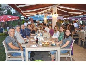 TEMAD üyeleri iftar yemeğinde buluştu