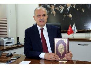 Kütahya'da 'Hediyem Kur'an olsun' kampanyasına ilgi