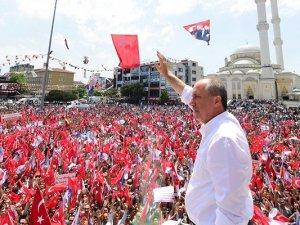 Muharrem İnce: 'Erdoğan bu krizi atlatamaz'