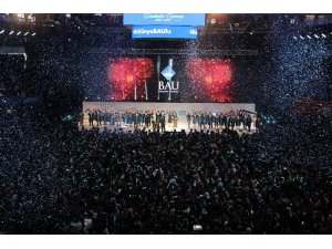 BAU 18. dönem mezunlarını uğurladı