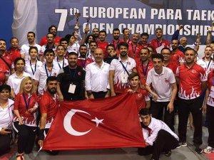 Türkiye para-tekvandoda Avrupa'nın zirvesinde