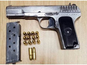 Sosyal paylaşım sitesi üzerinden silah satışı paylaşımına gözaltı