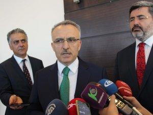 """Ağbal: """"Türkiye ekonomisi 2018 yılına da hızlı bir giriş yapmıştır"""""""
