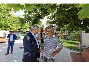Başkan Baran Seçim çalışmalarını Mimar Sinan'da sürdürdü