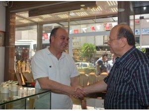 Başkan Özkacan ziyaretlerini aralıksız sürdürüyor