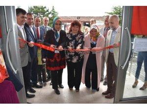 Halk Eğitim Merkezi'nin yıl sonu sergisinin açılışı yapıldı