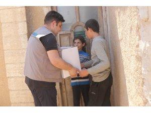Suriyelilere bayram yardımı