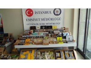 İstanbul'da puro ve sigara operasyonu: 23 bin 423 paket puro ve sigara ele geçirildi