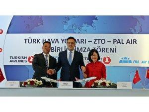 Türk Hava Yolları'ndan dev ortaklık