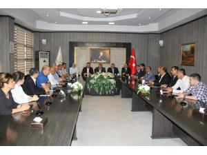 MHP milletvekili adaylarından GTB'ye ziyaret