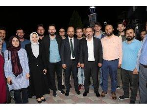 Sincan Belediye Başkanı Ercan, Çorumlularla sahur yaptı