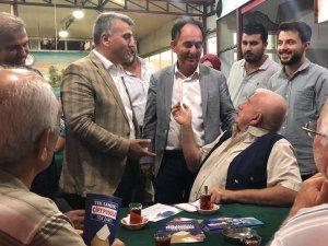 "Canbey ""24 Haziran'da Edremit Reis'le ve AK Parti ile devam der"""