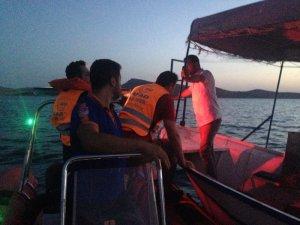 Barajda mahsur kalan 2 arkadaş kurtarıldı