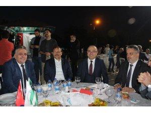 Bursa'da binlerce Batı Trakyalı iftarda buluştu
