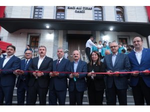 Yapımı tamamlanan Hacı Ali Tınas Camii ibadete açıldı