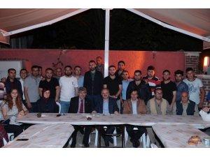 Vali Çakacak, Türk Ocağı'nın iftar programına katıldı