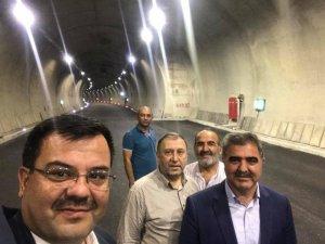 Amasya'da Ferhat Tüneli hizmete giriyor
