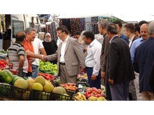 Başkan Türkmenoğlu'ndan esnaf ziyaretleri