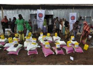 Etiyopya'ya gıda yardımı